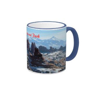 Winter in Arches National Park Ringer Mug