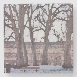 Winter in Bath Stone Coaster