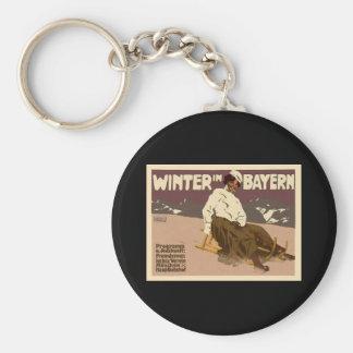 Winter In Bayern Keychain
