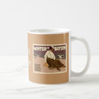 Winter In Bayern Vintage Coffee Mug