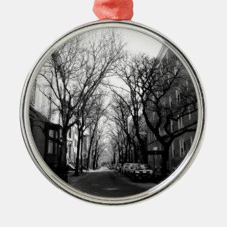 Winter in Brookly, NY Adorno