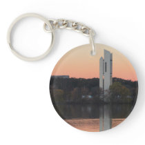 Winter in Canberra Keychain