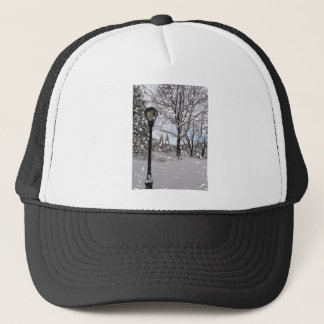 Winter in Central Park1 Trucker Hat