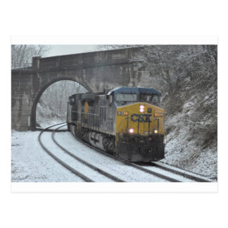 Winter in Clarksville Post Cards