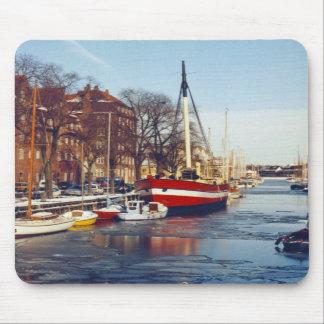 Winter in Copenhagen Mousepad