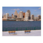 winter in detroit post cards