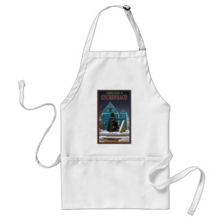 Winter in Eschenbach Adult Apron