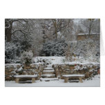 Winter in France Stationery Note Card