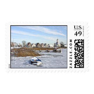Winter in Holland Postage