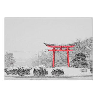 Winter in Japan Card