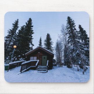 Winter in Jukkasjärvi Mousepad