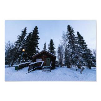 Winter in Jukkasjärvi Photo Print