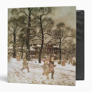 Winter in Kensington Gardens Binders