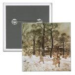 Winter in Kensington Gardens Button