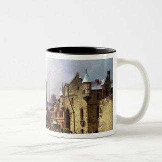 Winter in Konigsberg Two-Tone Coffee Mug