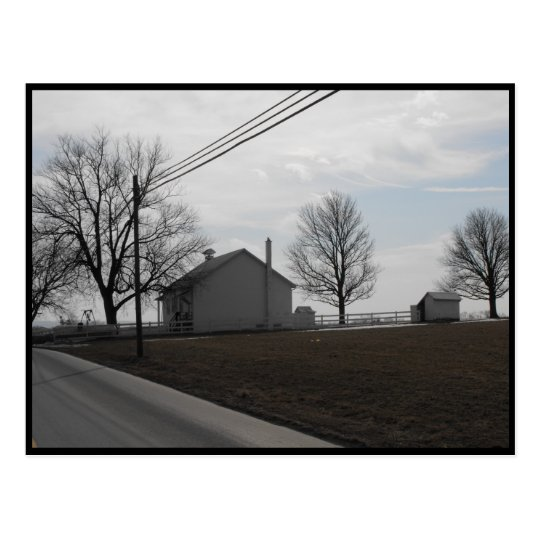 ~ Winter in Lancaster County ~ 20 Postcard