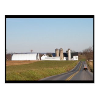 ~ Winter in Lancaster County ~ 33 Postcard