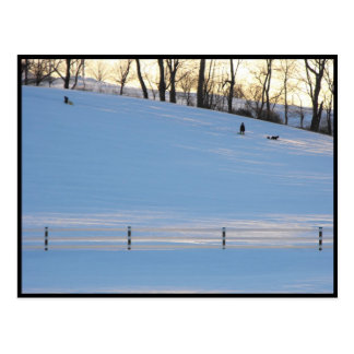 ~ Winter in Lancaster County ~ 5 Postcard