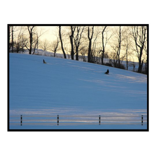~ Winter in Lancaster County ~ 6 Postcard