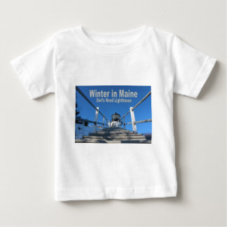 Winter in Maine Baby T-Shirt