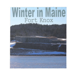 Winter in Maine Notepad
