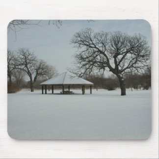 Winter in Minnesota Mouse Pad