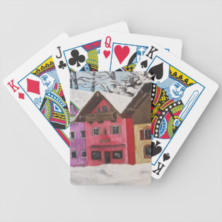 Winter in Neubeuern Bicycle Playing Cards