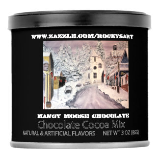 WINTER IN NEVADA CITY CHOCOLATE DRINK MIX