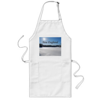 Winter in New England Apron