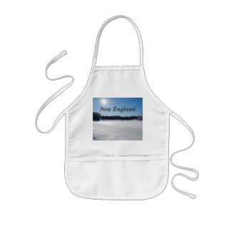 Winter in New England Kids' Apron