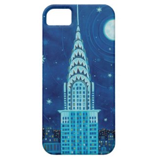Winter in New York City iPhone 5 Case-Mate Case