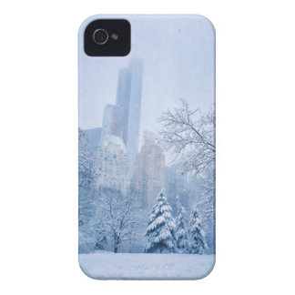 Winter In New York City's Central Park iPhone 4 Case