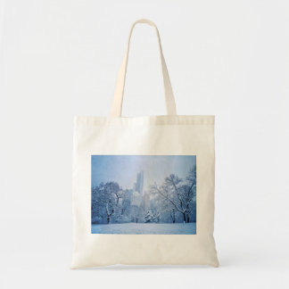 Winter In New York City's Central Park Tote Bag