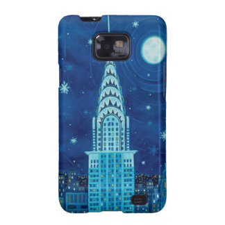Winter in New York City Samsung Galaxy S Case Galaxy S2 Covers