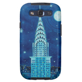Winter in New York City Samsung Galaxy S Case Samsung Galaxy SIII Case