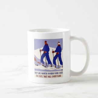 Winter in New York State Coffee Mug