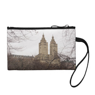 Winter in New York with the view of The San Remo Change Purse