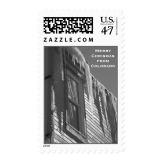 Winter in Ouray Postage