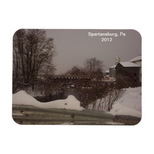 Winter in Pa. 2012 Magnet