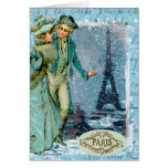 Winter in Paris Cards