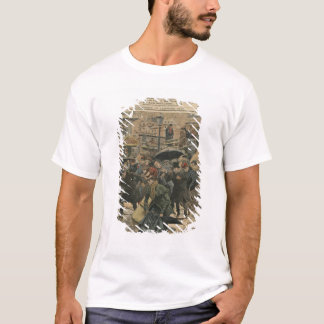 Winter in Paris walking in the mud T-Shirt