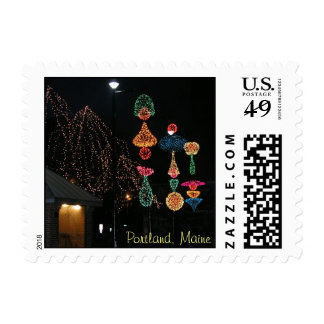 Winter in Portland, Maine Postage