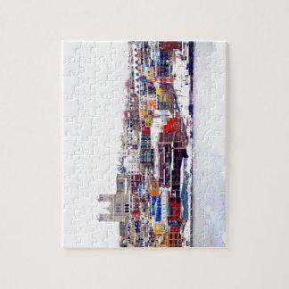 Winter In St. John's Jigsaw Puzzle