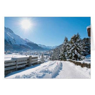 Winter in St. Moritz Card