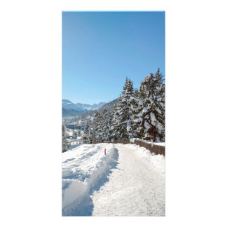 Winter in St. Moritz Photo Greeting Card