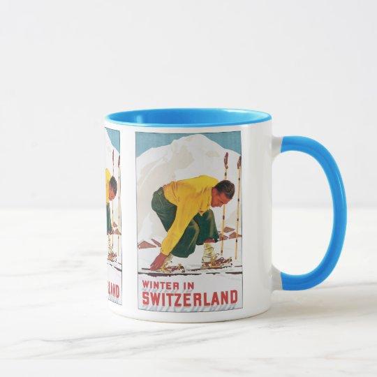 Winter in Switzerland Mug