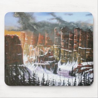 Winter in The Canyon Mouse Pad