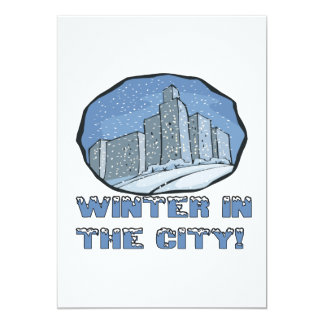 Winter In The City Card
