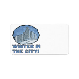 Winter In The City Label