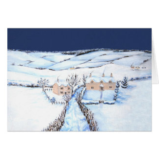 Winter in the Cotswolds Card